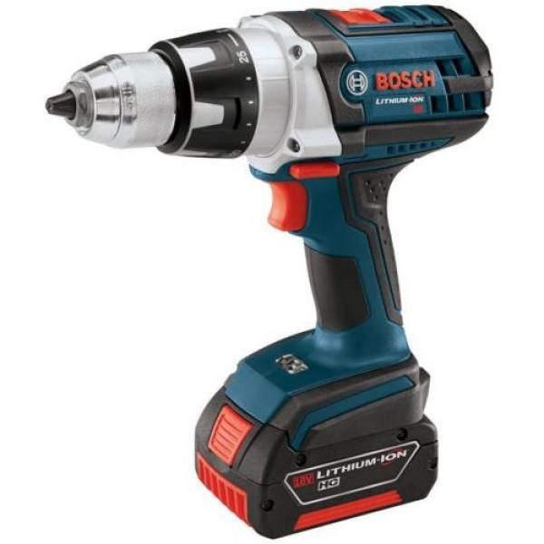 Cordless Electric Variable Speed Tough Drill Driver 18 Volt Lithium-Ion Kit #5 image