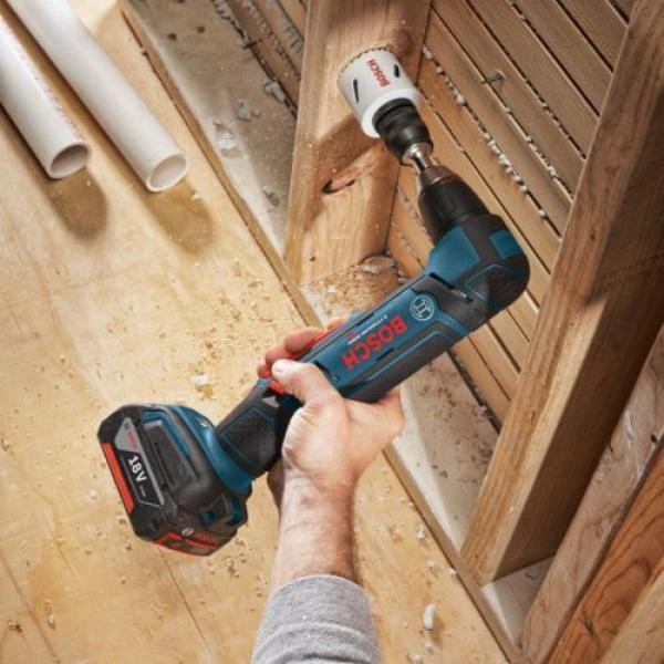 """Bosch ADS181BL 18V Li-Ion 1/2"""" Right Angle Drill (Tool Only) #3 image"""