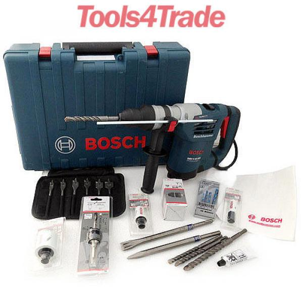 Bosch GBH4-32DFR Multidrill 4Kg 900W SDS+ Rotary Hammer 240V With Accessories #1 image
