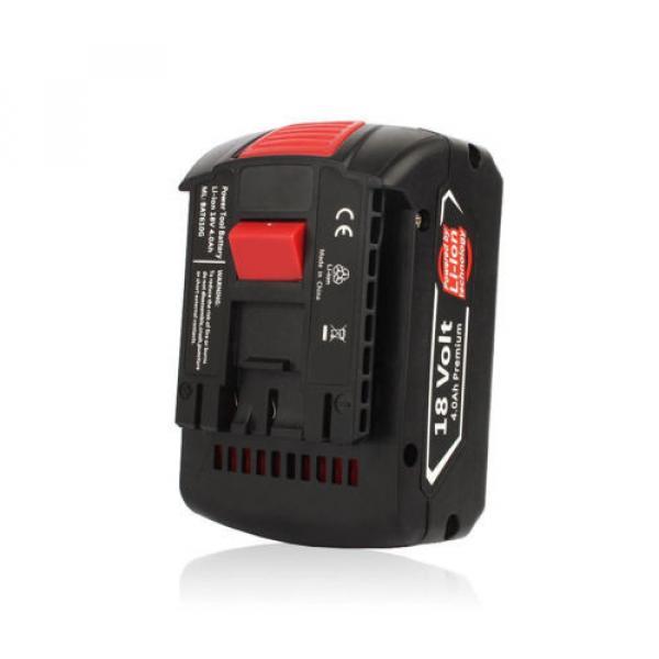 3x4.0AH 18V Li-ion Battery For Bosch BAT609 BAT618 2 607 336 091 CCS180 CCS180B #2 image
