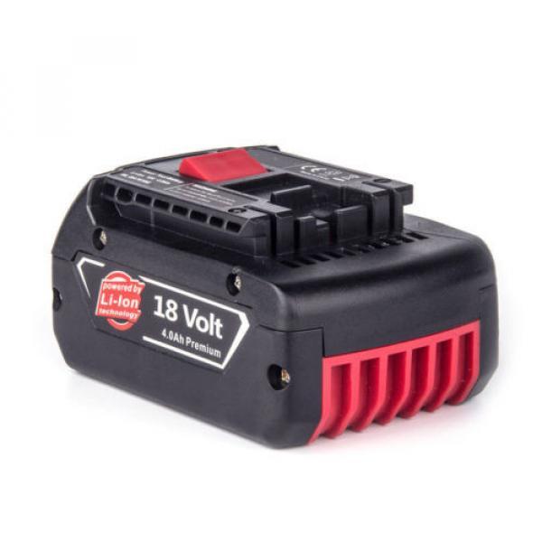 3x4.0AH 18V Li-ion Battery For Bosch BAT609 BAT618 2 607 336 091 CCS180 CCS180B #3 image