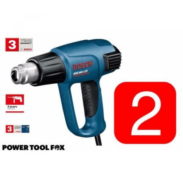 2x Bosch GHG 660 LCD Professional HEAT GUNS 240V Corded 0601944742 3165140289443 #1 image