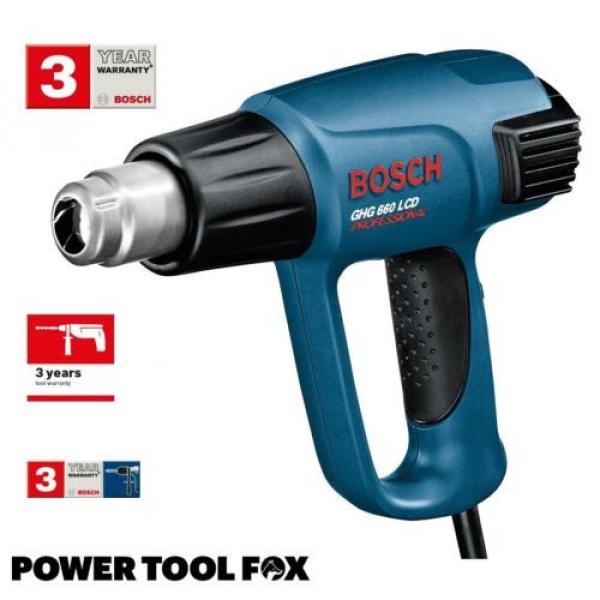 2x Bosch GHG 660 LCD Professional HEAT GUNS 240V Corded 0601944742 3165140289443 #2 image