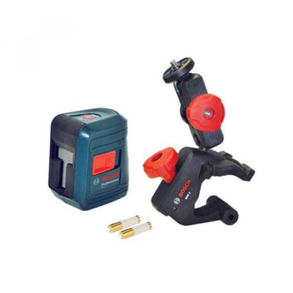 Bosch GLL 2 Self-leveling Cross-Line Laser with clamping mount #1 image