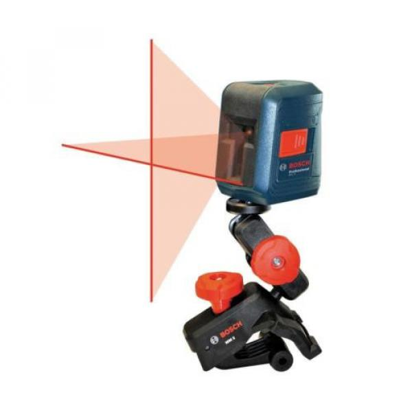 Bosch GLL 2 Self-leveling Cross-Line Laser with clamping mount #2 image