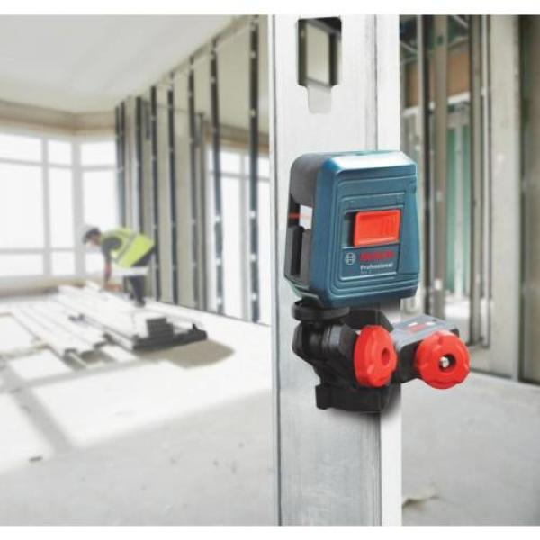 Bosch GLL 2 Self-leveling Cross-Line Laser with clamping mount #6 image