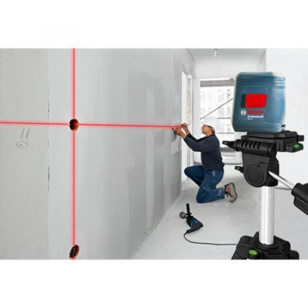 Bosch GLL 2 Self-leveling Cross-Line Laser with clamping mount #7 image