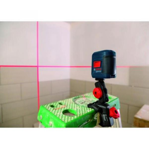 Bosch GLL 2 Self-leveling Cross-Line Laser with clamping mount #8 image