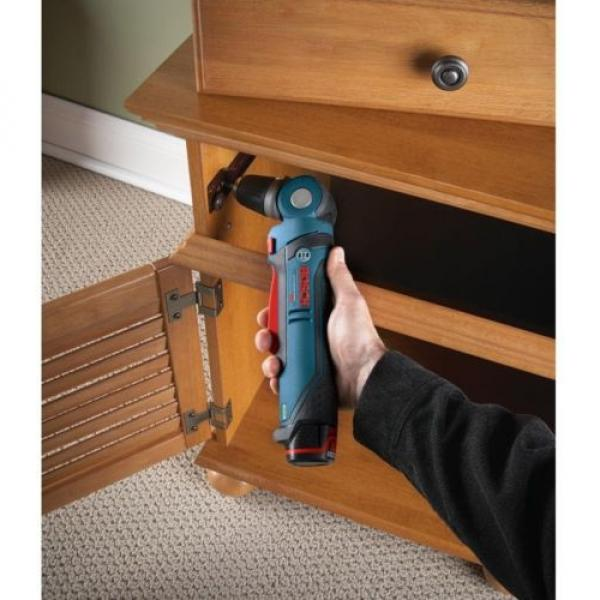 Bosch 12 Volt Lithium-Ion Cordless 3/8 in. Variable Speed Right Angle Drill Tool #2 image