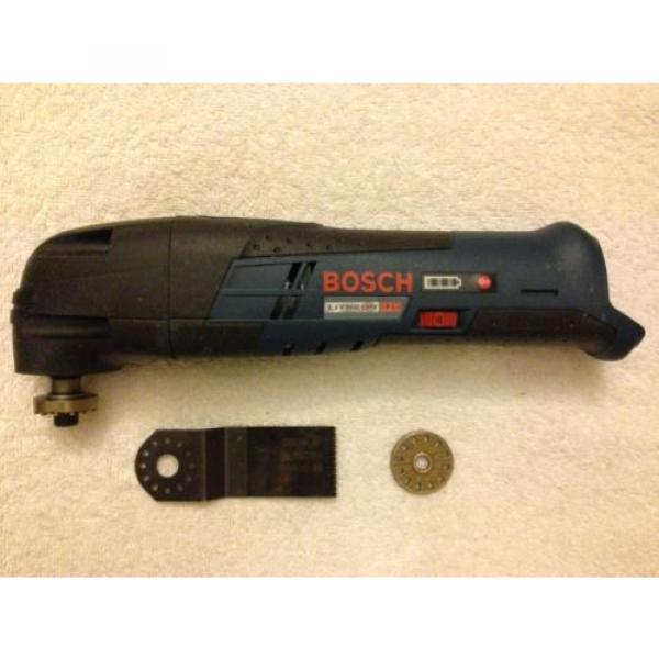New Bosch PS50 12V 12 Volt Max Cordless Multi-X Oscillating Tool Lithium Ion #5 image