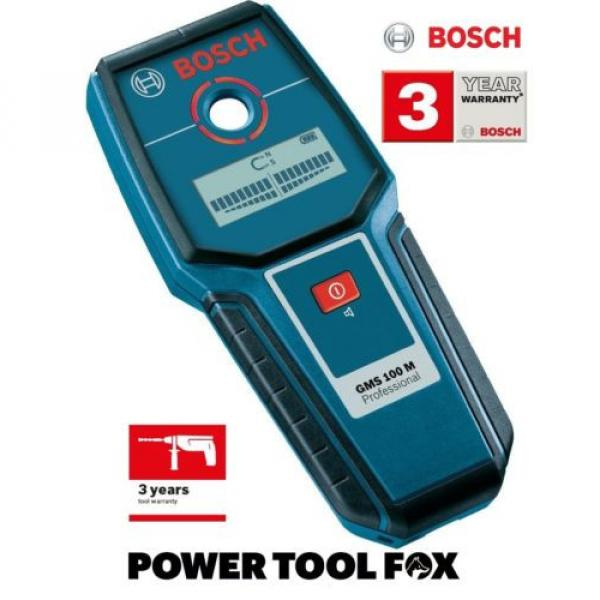 Bosch GMS 100 M PRO DETECTOR & Wall Scanner 0601081100 3165140630597 #1 image