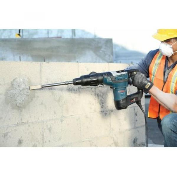 Bosch Rotary Hammer Drill Concrete Driver SDS-MAX Electric Power Tool 12Amp 120V #9 image