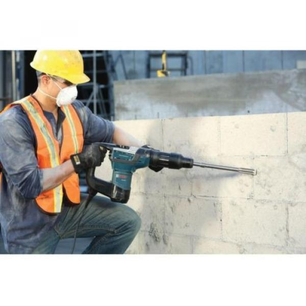 Bosch Rotary Hammer Drill Concrete Driver SDS-MAX Electric Power Tool 12Amp 120V #10 image