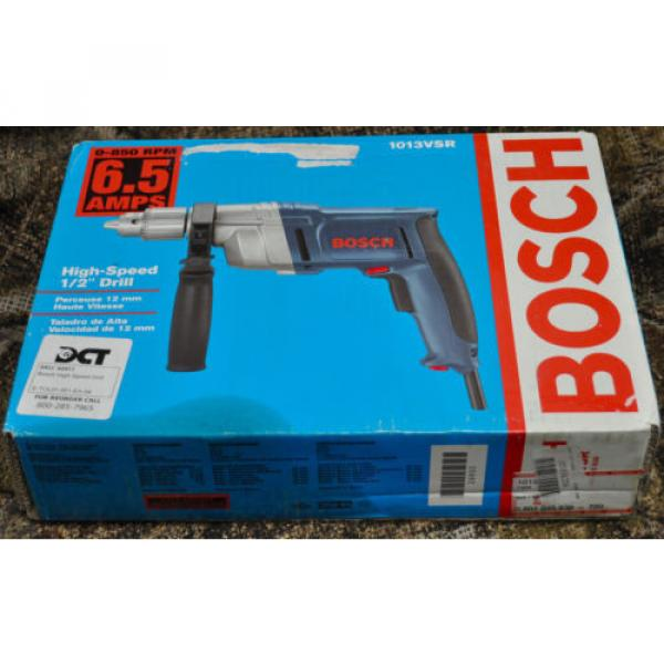 "Bosch High-Torque 1013 VSR 1/2""  Corded Drill/Driver 6.5 850 Heavy Duty - NEW! #1 image"