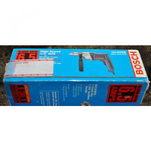 "Bosch High-Torque 1013 VSR 1/2""  Corded Drill/Driver 6.5 850 Heavy Duty - NEW! #2 image"