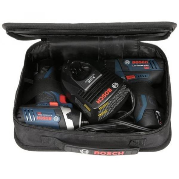 Bosch 12-Volt Max Lithium Ion (Li-ion) Cordless Combo Kit with Soft Case #2 image