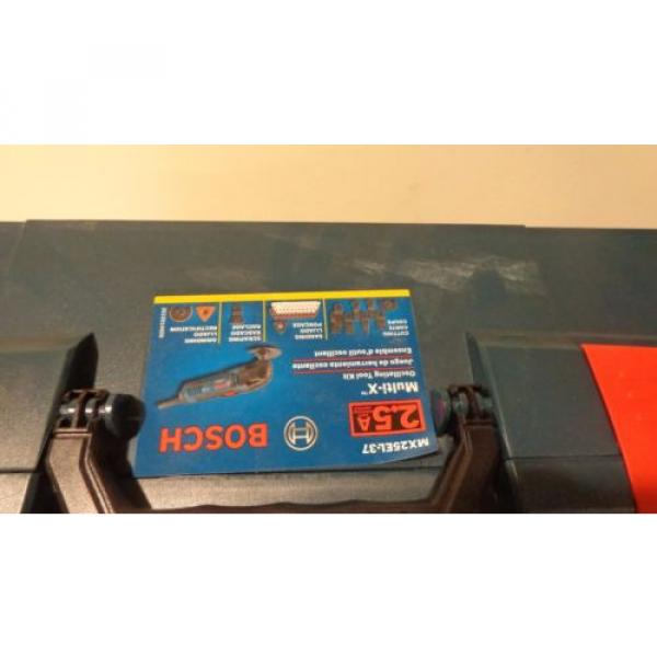 Bosch MX25EL-37 2.5-Amp Oscillating Tool, LBoxx and Accessories #10 image