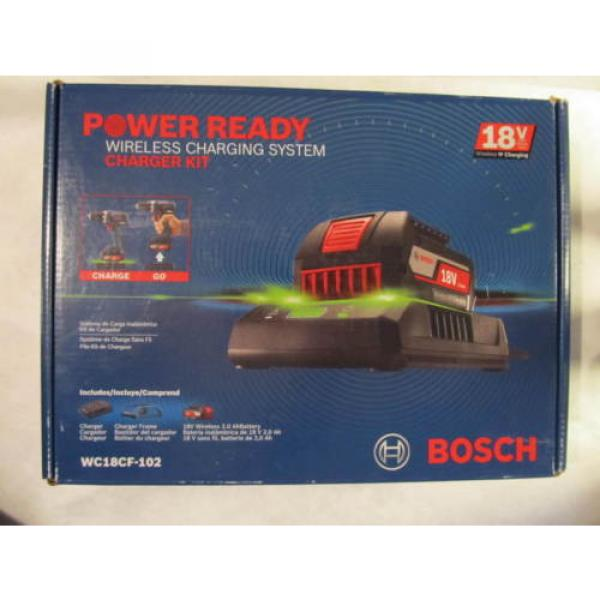 Bosch Tools 18V Wireless Charging Starter Kit w/ BATTERY & Frame WC18CF-102 NEW #1 image