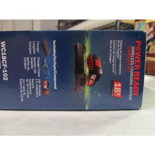 Bosch Tools 18V Wireless Charging Starter Kit w/ BATTERY & Frame WC18CF-102 NEW #5 image