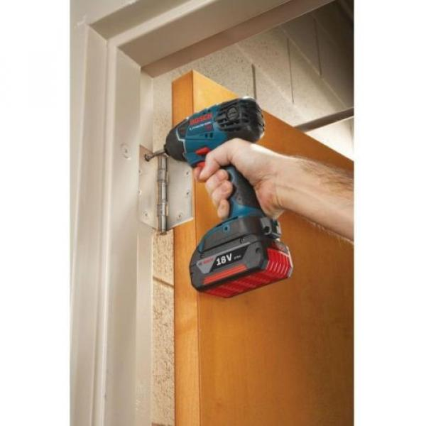 Bosch 18 Volt Lithium-Ion Cordless Electric 1/2 in. Impact Wrench with LED #4 image