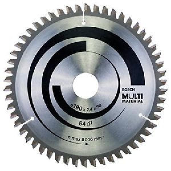 Bosch 2608640509 Lama Circolare Multi-Material, 190 x 30, 54D #1 image