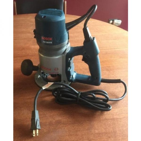 Bosch 1618EVS D-Handle Router, 2HP, Made in USA #1 image
