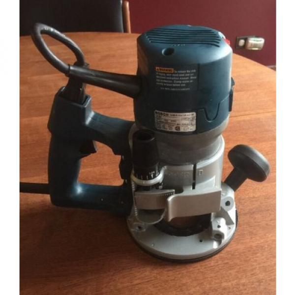 Bosch 1618EVS D-Handle Router, 2HP, Made in USA #2 image
