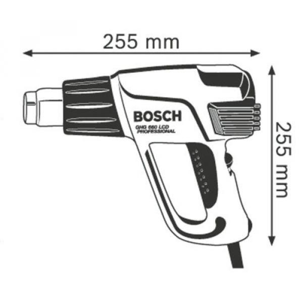 Bosch GHG 660 LCD 2300W Digital Heat Gun 110V #3 image