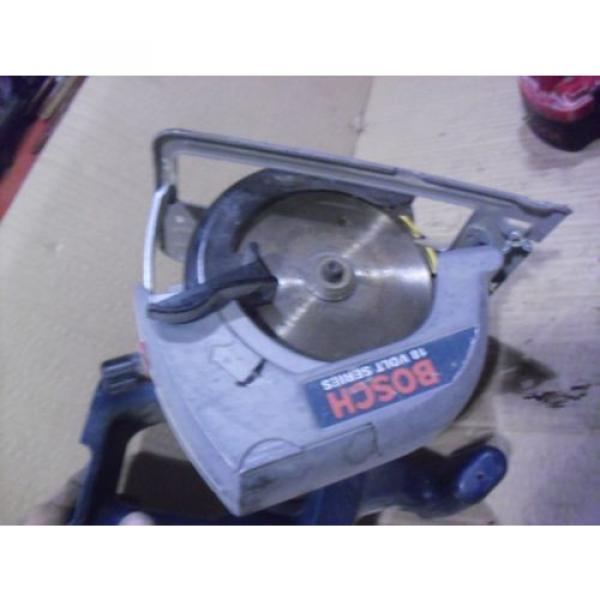 """Bosch 18 Volt 5-3/8"""" Cordless Saw # 1659 With BAT025 Battery & BC003 Charger #10 image"""