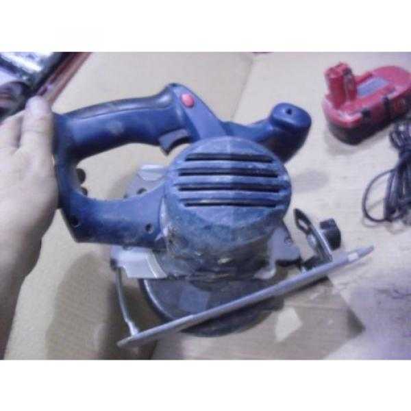 """Bosch 18 Volt 5-3/8"""" Cordless Saw # 1659 With BAT025 Battery & BC003 Charger #11 image"""