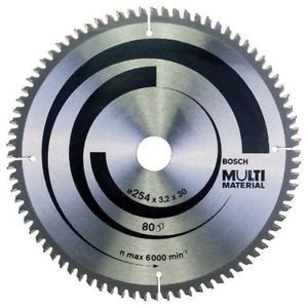 Bosch Zubehör 2608640450 - Lama per sega circolare multi materiale, 254 x 30 x #1 image