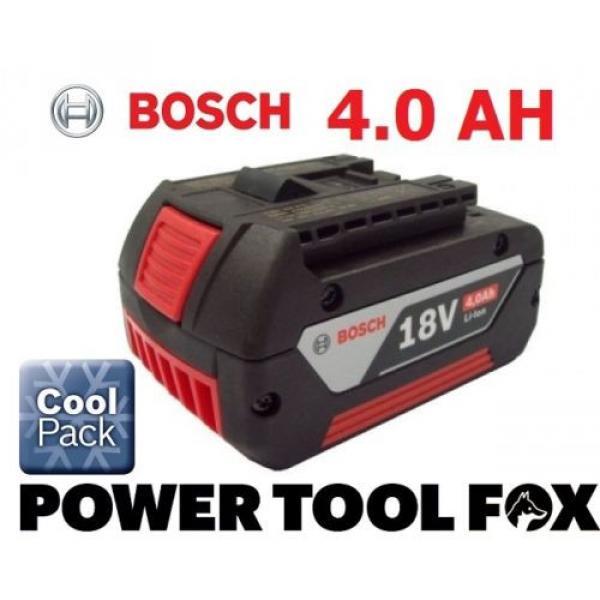 Bosch 18v 4.0ah Li-ION Battery (Cool Pack) 2607336815 1600Z00038 ( 1386 )# #1 image
