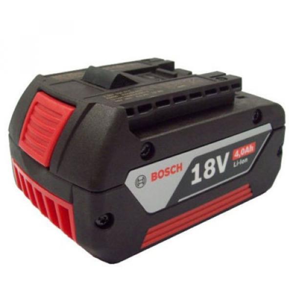 Bosch 18v 4.0ah Li-ION Battery (Cool Pack) 2607336815 1600Z00038 ( 1386 )# #2 image