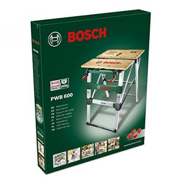 Mesa de trabajo Bricolage Bosch PWB 600 Con Mordazas de Sujección Aguante 200 Kg #1 image