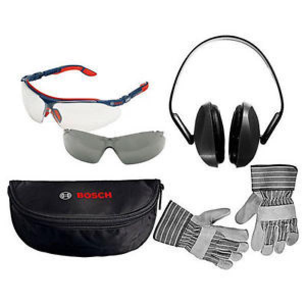 Bosch Safety Glasses, Rigger Gloves & Ear Defenders Pack - BOS0615990ER3 #1 image