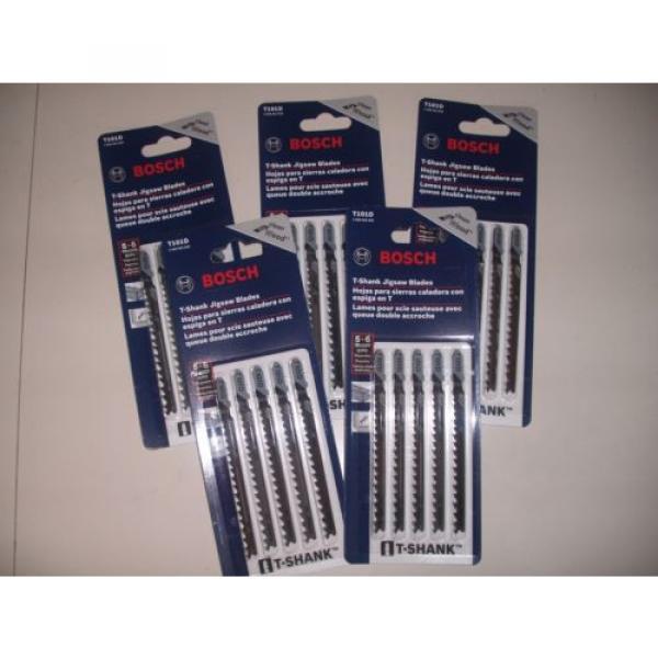 25 Piece Bosch T101D Jigsaw Blades 5-6 TPI High Carbon Steel T-Shank #1 image