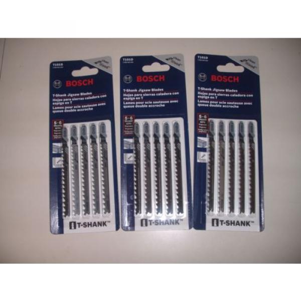 25 Piece Bosch T101D Jigsaw Blades 5-6 TPI High Carbon Steel T-Shank #2 image