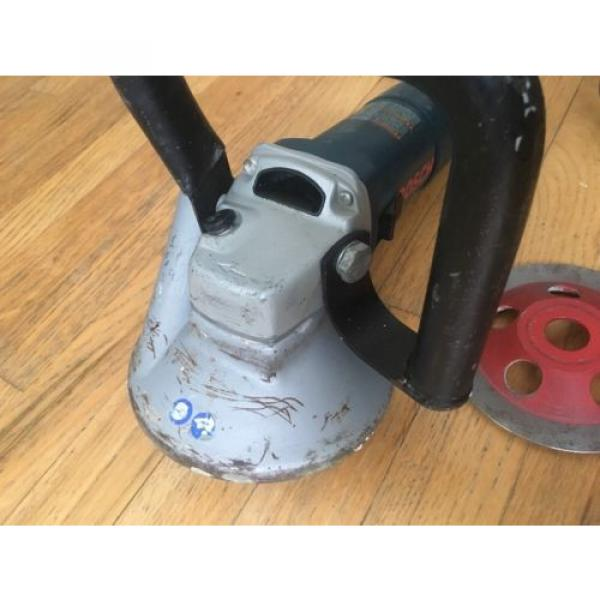 """Bosch 5"""" Concrete Surfacing Grinder 1773AK + Extras (Made in Germany) Bosch Tool #9 image"""
