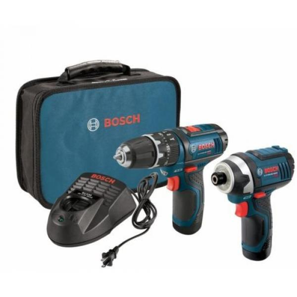 12-Volt Lithium-Ion Cordless Drill Driver and Impact LED Light 2 Tool Combo Kit #1 image