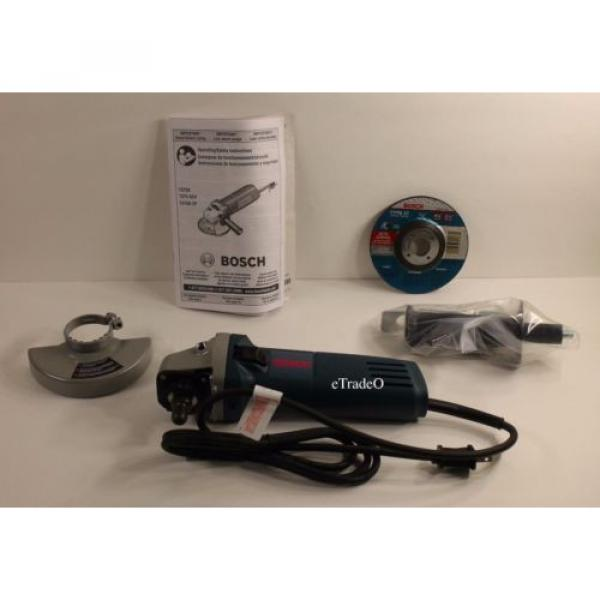 """Bosch 4.5"""" 6 AMP Angle Grinder Free Shipping * Authorized Dealer * Full Warranty #4 image"""
