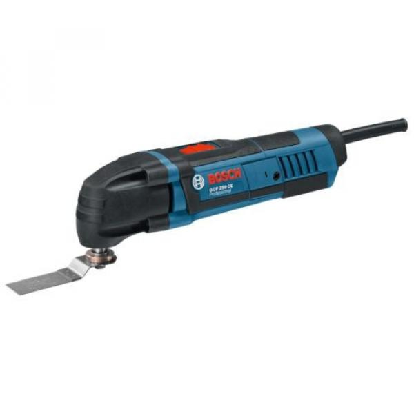 New Bosch Professional Multi Cutter With 8 Accessories GOP 250CEC 110 Volt #1 image