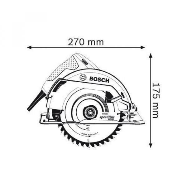 Bosch Professional Circular Saw, GKS 7000, 1100W, 5200rpm #2 image