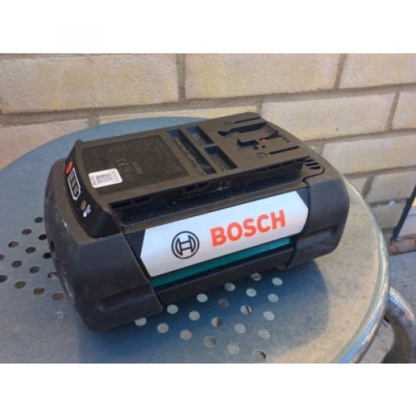 BOSCH 36 VOLT 4.0 AH LI-ION BATTERY 2607337047 - FREE SHIPPING #3 image