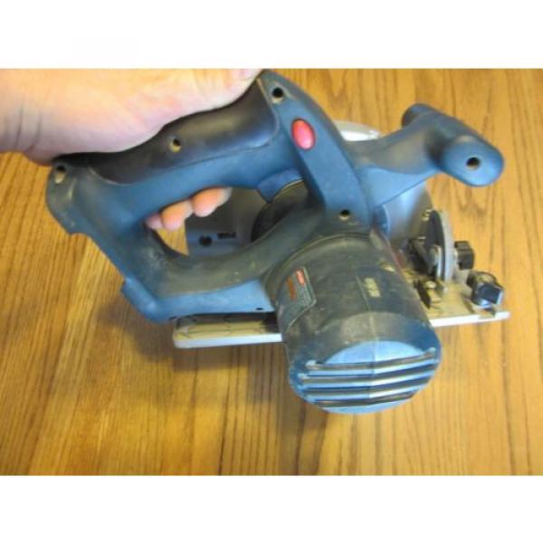 "Bosch 18V 6-1/2"" Cordless Circular Saw WORKS #3 image"