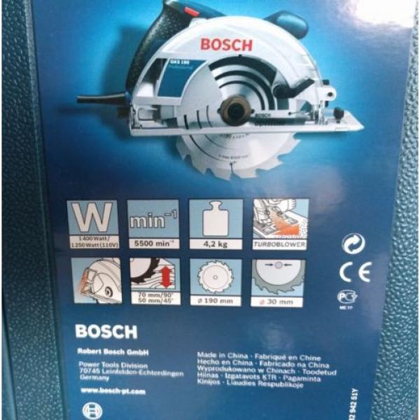 Bosch GKS 190 Circular Saw NEW #2 image