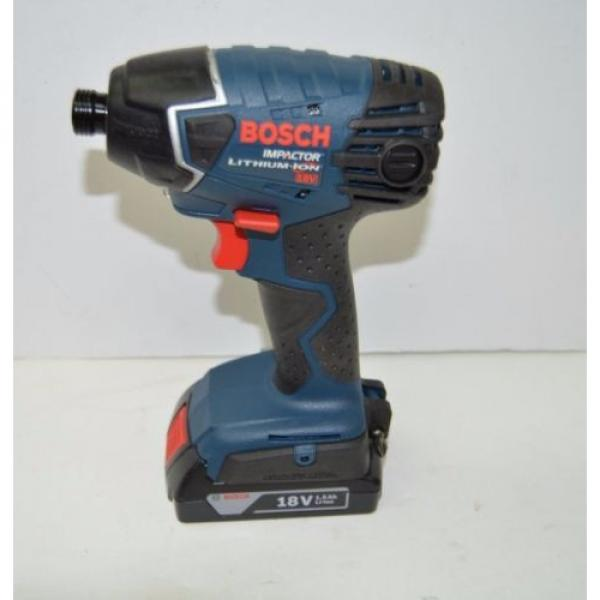 Bosch 25618-02 18-Volt Lithium-Ion 1/4-Hex Impact Driver Kit with 2 Batteries #2 image