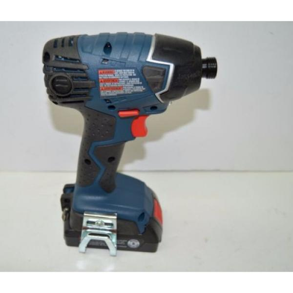 Bosch 25618-02 18-Volt Lithium-Ion 1/4-Hex Impact Driver Kit with 2 Batteries #3 image