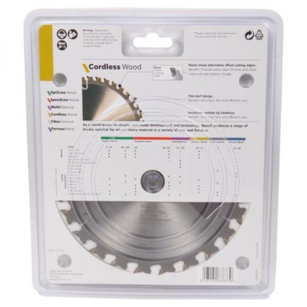 Bosch Cordless Wood Circular Saw Blades 165mm - 18T, 24T or 40T #5 image