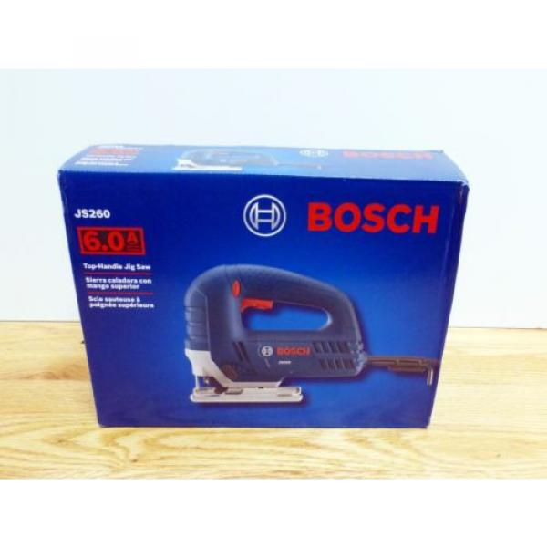 Bosch JS260 Top-Handle Jig Saw 6Amp Corded Variable Speed Toolless Brand New #1 image