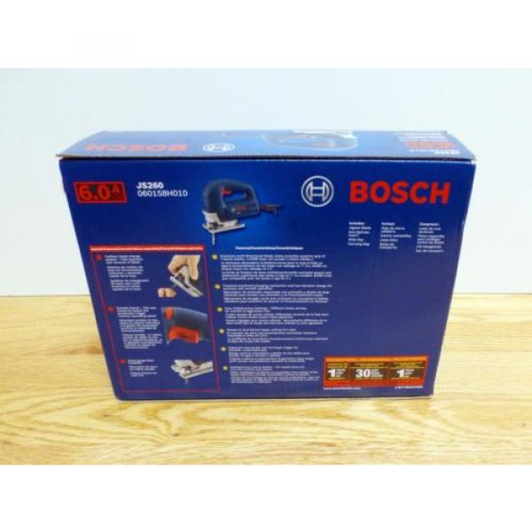 Bosch JS260 Top-Handle Jig Saw 6Amp Corded Variable Speed Toolless Brand New #2 image